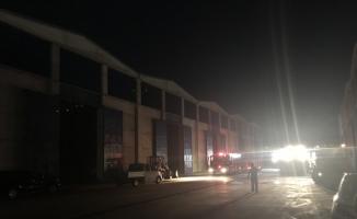 Samsun'da depo yangını