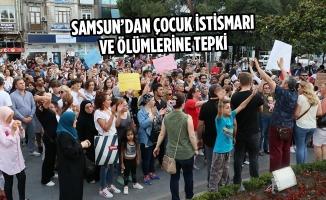 Samsun'dan Çocuk İstismarı Ve Ölümlerine Tepki