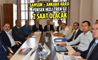 Başkan Şahin: Yüksek Hızlı Tren Ankara İle Bağlarımızı Güçlendirecek