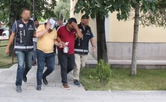 Bayburt'ta 35 düzensiz göçmen yakalandı