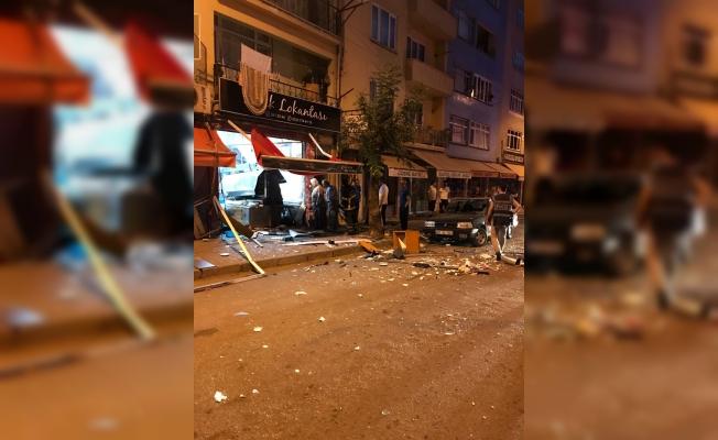 Giresun'da lokantada tüp patladı: 1 yaralı