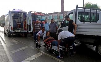 Giresun'da zincirleme trafik kazası: 3 yaralı