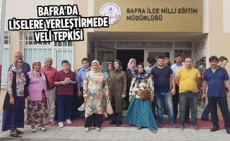 Bafra'da Liselere Yerleştirmede Veli Tepkisi