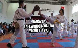 Bafra'da Taekwondo Sporu'na Yoğun İlgi Var