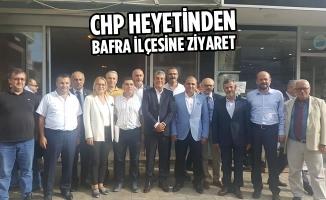 CHP Heyetinden Bafra İlçesine Ziyaret