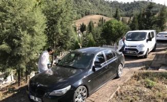 Karabük'te polis-şüpheli kovalamacası