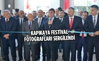 Kapıkaya Festival Fotoğrafları Sergilendi