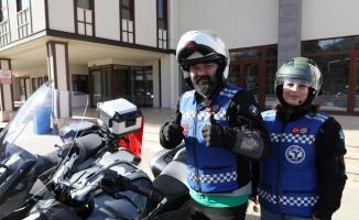 Motosikletlerle