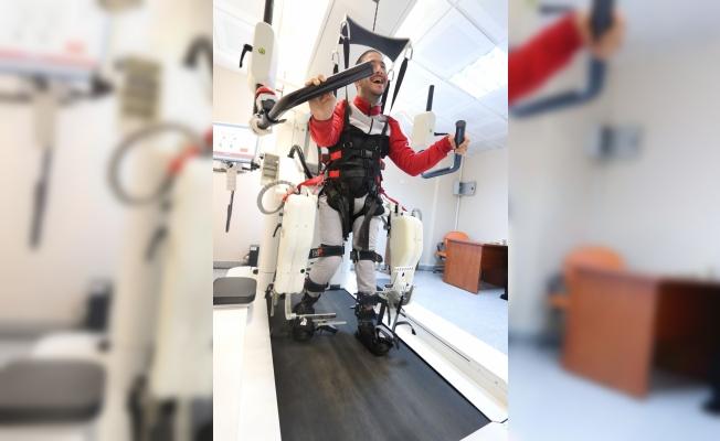 Rize'de robotik yürüme cihazı hizmete girdi