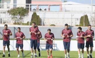 Trabzonspor'da Bursaspor maçı hazırlıkları başladı
