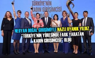 Türkiye'nin Kadın Girişimcisi Yarışmasında Samsun'a Ödül