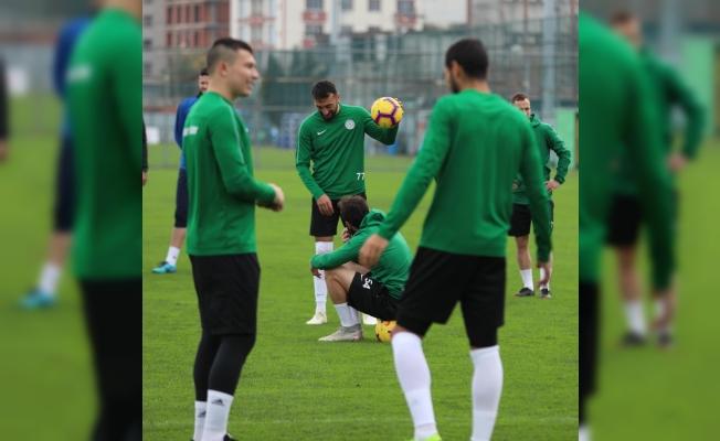 Çaykur Rizespor'da gözler Galatasaray maçına çevrildi