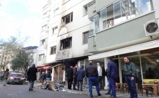 Trabzon'da tüp gaz bayisindeki patlama