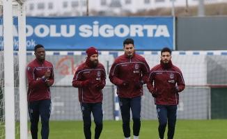 Trabzonspor'da Çaykur Rizespor maçı hazırlıkları başladı