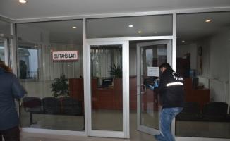 Belediye binasından hırsızlık iddiası