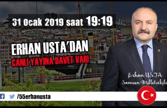 Erhan Usta'dan CANLI YAYINA Davet Var!