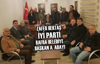 İYİ Parti İlçe Başkanı Bektaş Görevinden İstifa Etti