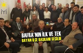 İYİ Parti ilçe Başkanlığına İfaket İpek Çelebi Seçildi