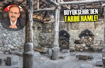 Ladik'te Ambarköy, Vezirköprü'de Adatepe Çamaşırlığı