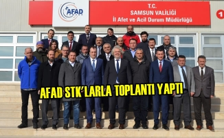 Samsun AFAD STK'larla Toplantı Yaptı