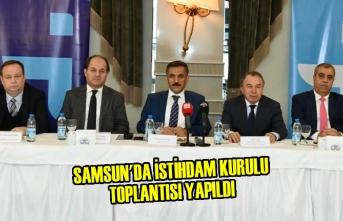 Samsun'da İstihdam Kurulu Toplantısı Yapıldı