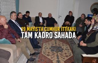 19 Mayıs'ta Cumhur İttifakı Tam Kadro Sahada