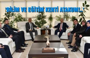 Başkan Zihni Şahin'den OMÜ'ye Ziyaret