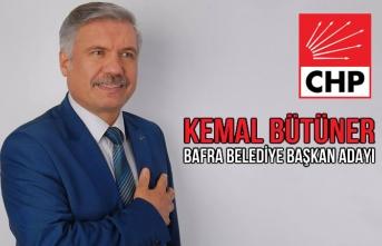 CHP Bafra'da Kemal Bütüner'i Aday Gösterdi