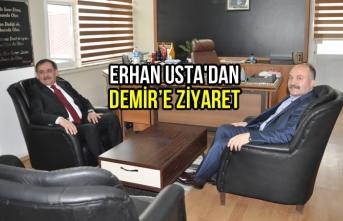 Erhan Usta'dan Demir'e Ziyareti