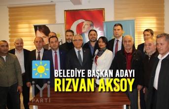 İYİ Parti Bafra Belediye Başkan Adayı Rızvan Aksoy