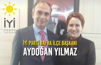 İYİ Parti'nin Yeni Bafra İlçe Başkanı Belli Oldu