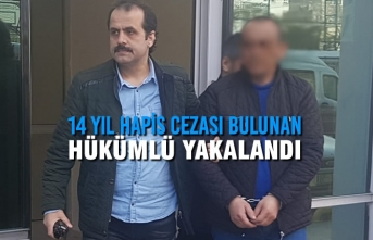 Samsun'da 14 Yıl Hapis Cezası Bulunan Hükümlü Yakalandı