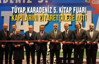 TÜYAP Karadeniz 5. Kitap Fuarı Başladı