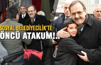 Başkan Adayı Zihni Şahin: Sosyal Belediyecilik'te ÖNCÜ ATAKUM!..