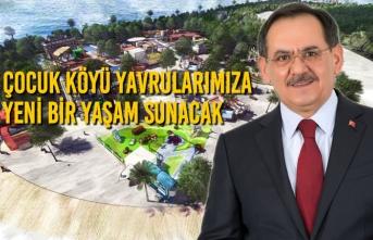 """Demir; """"Çocuk Köyü Yavrularımıza Yeni Bir Yaşam Sunacak"""""""