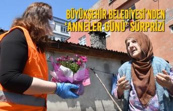 Büyükşehir Belediyesi'nden 'Anneler Günü' Sürprizi
