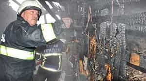 Bafra'da Yangın Kokuttu