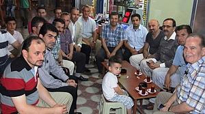 Başkanlar'ın Sahura Kadar Süren Ziyaretleri