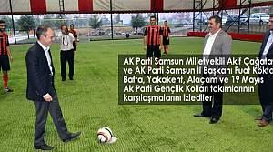 'Kardeşlik Halı Saha Futbol Turnuvası' Başladı