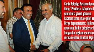 """Osman Genç, """"Parkla, Bahçeyle Şehir İleriye Gitmez"""""""