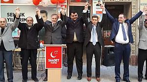 Saadet Partisi Bafra SKM Açılışı'nı Yaptı