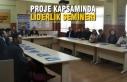 Proje Kapsamında Liderlik Semineri Gerçekleştirildi