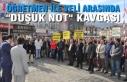 """Sinop'ta Öğretmen İle Veli Arasında """"Düşük..."""