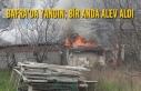 Bafra'da Yangın; Bir Anda Alev Aldı