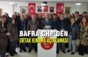 Bafra Chp'den Ortak Kınama Açıklaması