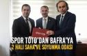Spor Toto'dan Bafra'ya 2 Halı Saha ve Soyunma...