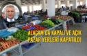 Alaçam'da Kapalı ve Açık Pazar Yerleri Kapatıldı