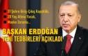 Cumhurbaşkanı Erdoğan, Koronavirüsle İlgili Alınan...
