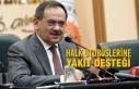 Samsun Büyükşehir'den Halk Otobüslerine Yakıt...