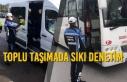 Samsun'da Toplu Taşımada Sıkı Denetim